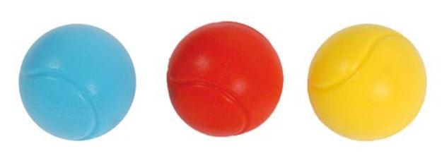 Afbeelding van foambal - 9 cm - rood