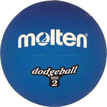 Afbeelding van Molten Dodgebal, ø200mm, 310g, blauw