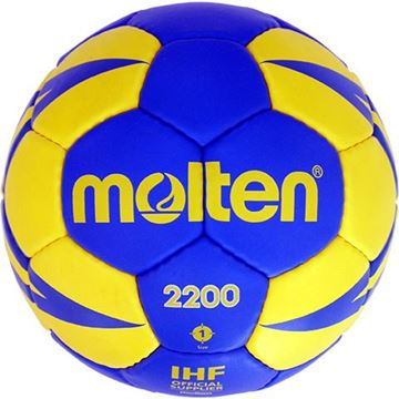 Afbeelding van Molten H1X2200-BY, trainingsbal, maat 1