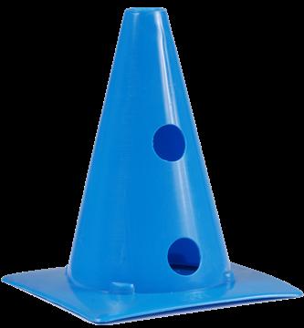 Afbeelding van kegel met gaten SEA - 20cm/2gaten - blauw