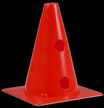 Afbeelding van kegel met gaten SEA - 20cm/2gaten - rood