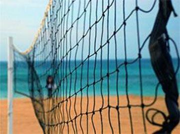 Afbeelding van volleybalnet - H.1m - per m
