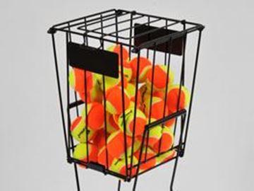 Afbeelding van ballenmand voor tennis