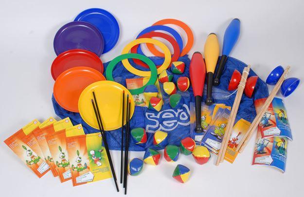 Afbeelding van Volledige oefenset jongleren