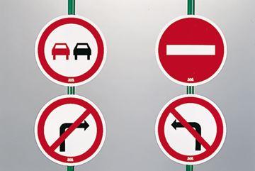 Afbeelding van verkeersborden 'verbod' - set/4