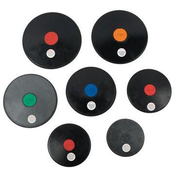 Afbeelding van discus rubber 800gr
