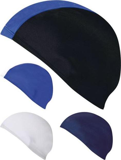 Afbeelding van badmuts - polyester - donkerblauw
