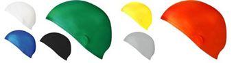 Afbeelding van badmuts - silicone 33g - geel
