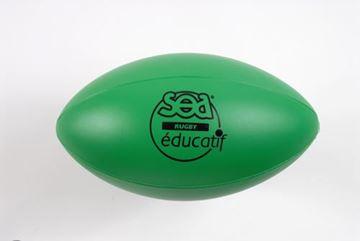 Afbeelding van rugbybal - SEA - edu - groen