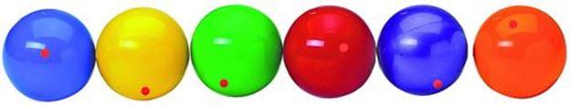 Afbeelding van jongleerbal PVC - rood