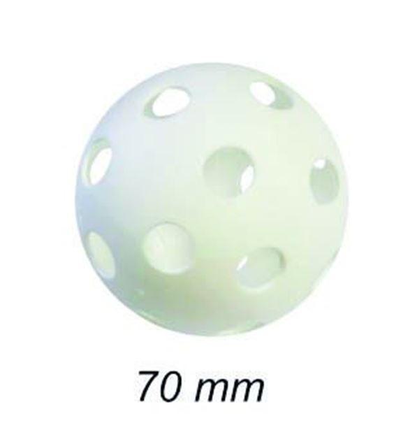 Afbeelding van unihockey bal - diam.70mm