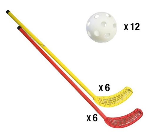 Afbeelding van unihockey set