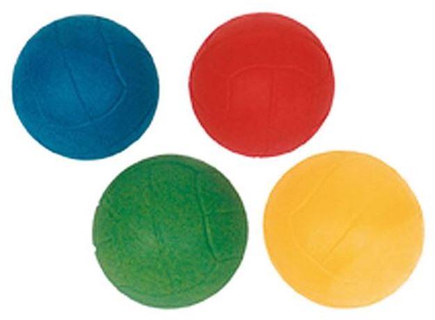 Afbeelding van botsende bal - rubber  - 6,5cm