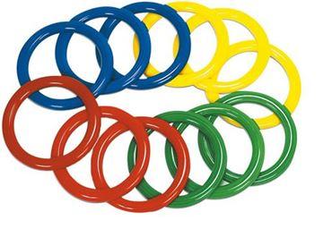 Afbeelding van werpring PVC - blauw