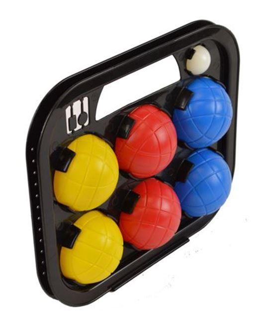 Afbeelding van petanque - set van 6 PVC ballen