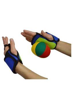 Afbeelding van balspel met velcro handen