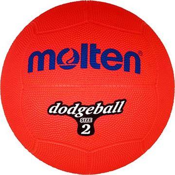 Afbeelding van Molten Dodgebal, ø200mm, 310g, rood