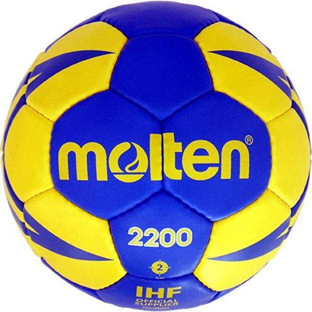 Afbeelding van Molten H2X2200-BY, trainingsbal, maat 2