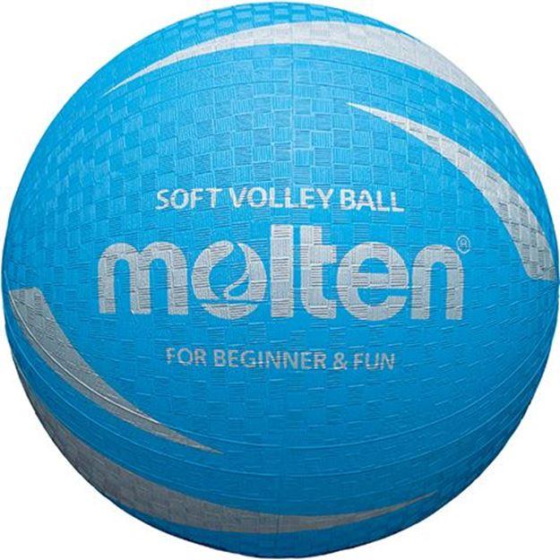 Afbeelding van Molten Soft Volleybal, blauw