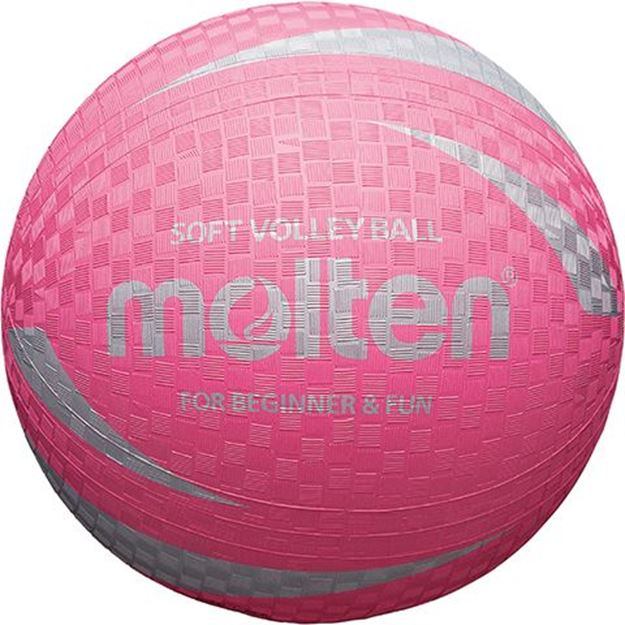 Afbeelding van Molten Soft Volleybal, roos