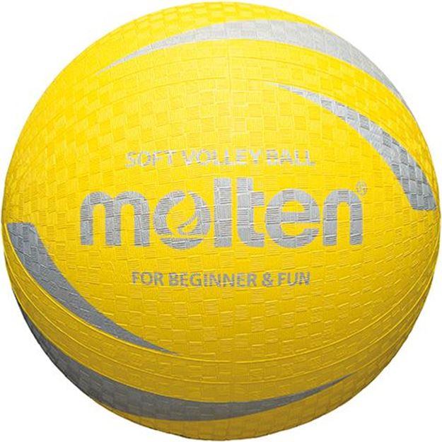 Afbeelding van Molten Soft Volleybal, geel