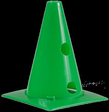 Afbeelding van kegel met gaten SEA - 20cm/2gaten - groen