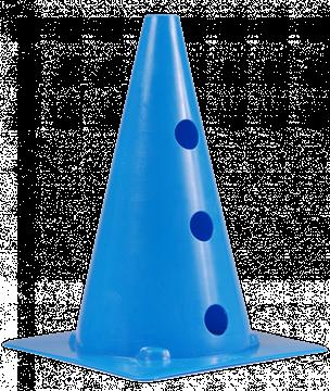 Afbeelding van kegel met gaten SEA - 30cm/6gaten - blauw