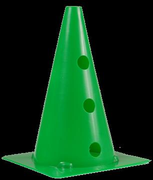 Afbeelding van kegel met gaten SEA - 30cm/6gaten - groen