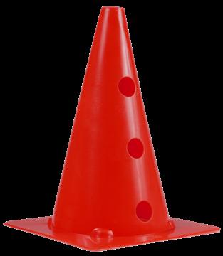 Afbeelding van kegel met gaten SEA - 30cm/6gaten - rood