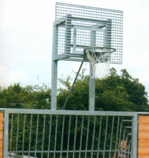 Afbeelding van Basketbalframe voor Heavy Duty doel