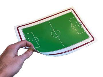 Afbeelding van Topo Soepele tactiek fiche Voetbal