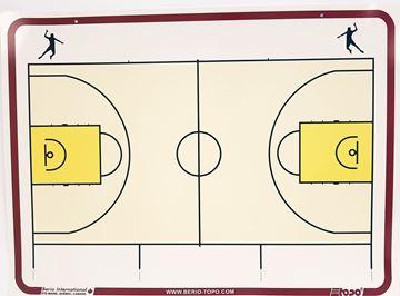 Afbeelding van Topo Soepel muurbord Basketball