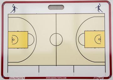 Afbeelding van Topo draagbaar muurbord Basketbal