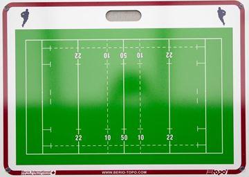 Afbeelding van Topo draagbaar muurbord Rugby