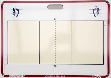 Afbeelding van Topo draagbaar muurbord Volleybal