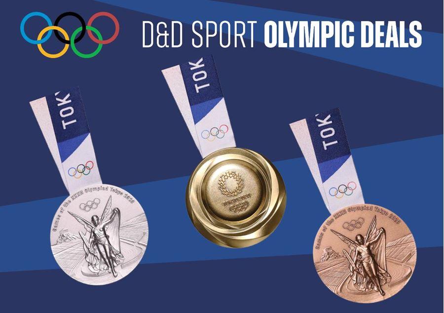 Olympic Deals bij D&D Sport